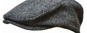 Other - Vintage style wool herringbone driving cap